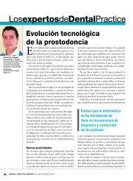 LosexpertosdeDentalPractice Evolución tecnológica de la ...