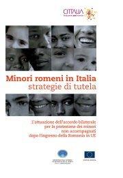 Minori romeni in Italia strategie di tutela - Libertà civili e immigrazione