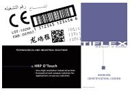 Download our product file (PDF, 446 Ko) - Tiflex