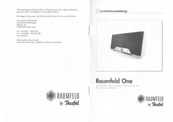 Bedienungsanleitung Smart Speaker for Android - Lautsprecher ...