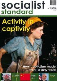 Socialist Standard February 2008 - World Socialist Movement