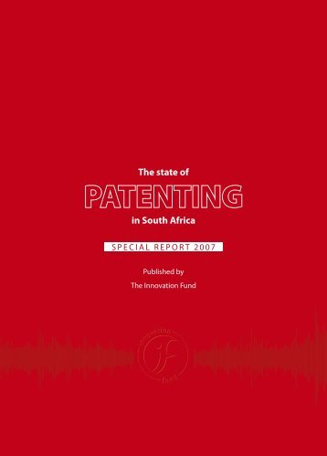 The state of PATENTING in South Africa - Research Contracts & IP ...