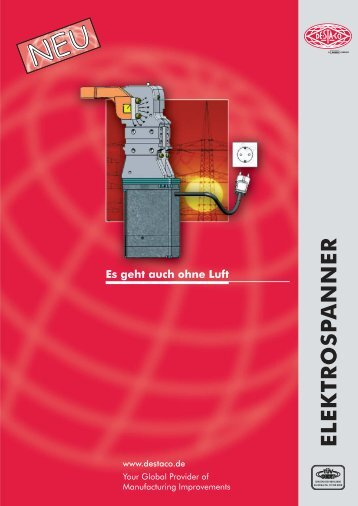 Elektrospanner - DESTACO Svenska AB