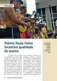 Prêmio Paulo Freire incentiva qualidade do ensino - Governo do ...