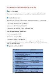 Vie de la Pépinière « GABES PROMOTECH ... - Tunisie industrie