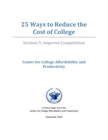 school lower the costs essay Earnings premium relative to costs of education 12 high school class of 1992 and general attitudes certainly contributes to the lower.