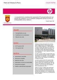 Mairie de Fontenay-le-Fleury - Hewlett-Packard France - HP