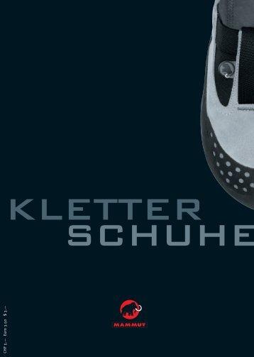 Mammut Kletterschuh Fibel - Klettersohle
