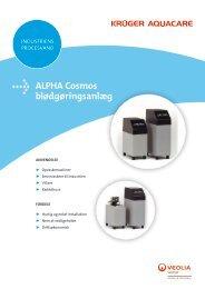 ALPHA Cosmos blødgøringsanlæg - Krüger A/S