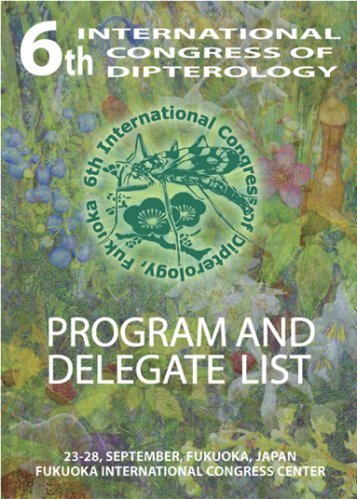 View the PDF of the Program and Delegate List - North American ...