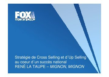 (Microsoft PowerPoint - Fox Mobile Group - Strat\351gie de ... - AFMM
