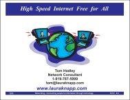 High Speed Internet Free for All - Laura Jeanne Knapp