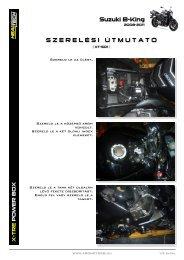 Suzuki B-King S Z E R E L É S I   Ú T M U T A T Ó - AGO Motors