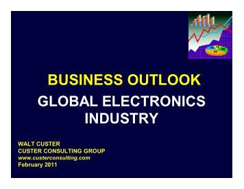 to view a PDF of Walt's charts for the conference - TTI Inc.