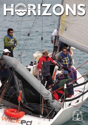Mar 2011 Issue - the Aberdeen Boat Club