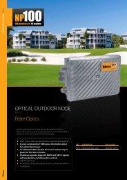 Fibre Optics OPTICAL OUTDOOR NODE - Protel