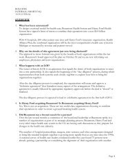 Frequently Asked Questions - Beaumont physicians