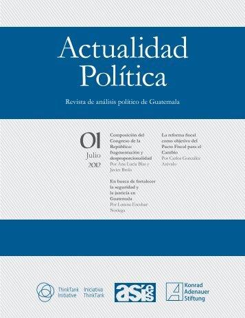Revista Actualidad Política, 01-2012 - Asociación de Investigación y ...
