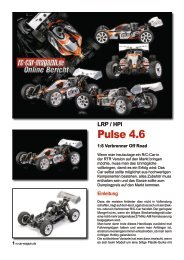 Querschnitt: HPI Pulse 4.6 RTR - LRP - RC-Car Magazin