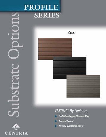 Zinc - CENTRIA