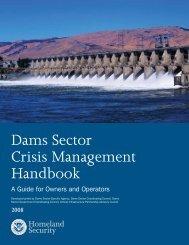 Dams Sector Crisis Management Handbook - Association of State ...