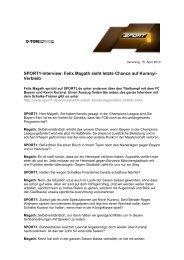 O-Ton als PDF-Download - Sport1