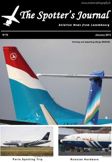 January 2013 - Aviation Photography Luxembourg