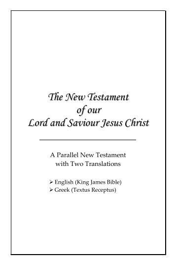 English-Greek New Testament - Taxicab Geometry