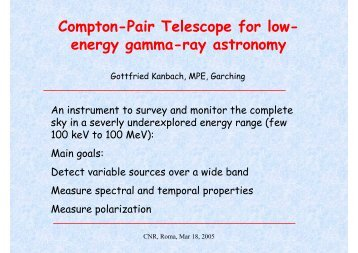 Compton-Pair Telescope for low- energy gamma-ray astronomy - Cesr