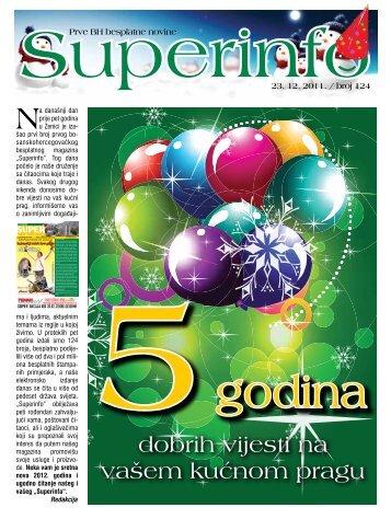 dobrih vijesti na vašem kućnom pragu - Superinfo