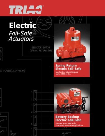 Fail-Safe Actuators - AT Controls