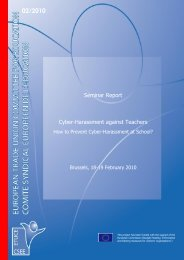 Seminar Report Cyber-Harassment against Teachers