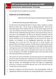 Aufbruch ins 21 Jahrhundert LDK Jusos Hamburg, 08. November ...