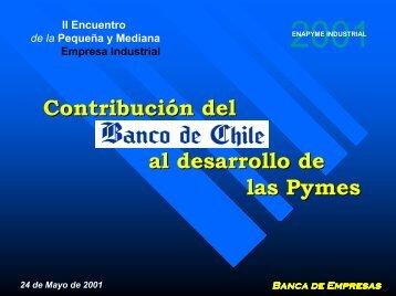 Financiamiento bancario privado - Asimet