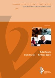 OSH in figures: stress at work — facts and figures - European ...