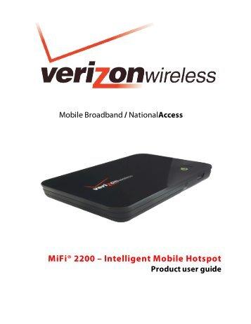 Novatel MiFi 5510L 3G / 4G LTE Jetpack Mobile Hotspot Verizon Wireless 5510L