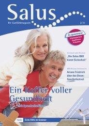 Ihr Gutfühlmagazin Ausgabe 2-2011 - Salus BKK