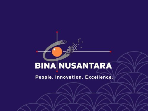 Communication Session Material (Indonesia) - BINA NUSANTARA ...