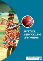 Sport für Entwicklung und friEdEn - Deza - admin.ch