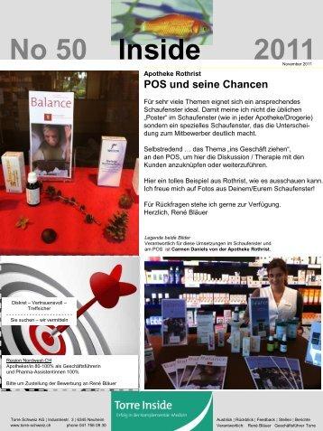 No 50 Inside 2011 - Torre Schweiz AG