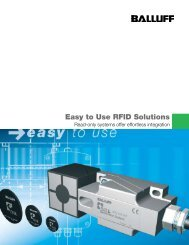 Easy to Use RFID Solutions - ISE Controls