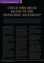Julia Camm Evans, Corven.pdf - Business Franchise Magazine