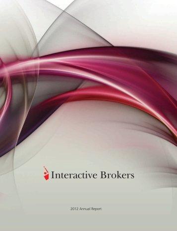 2012 Annual Report - Interactive Brokers