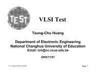 VLSI Test