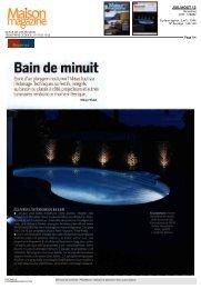 Maison Magazine - Piscinelle