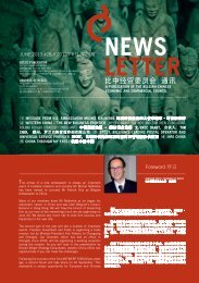 Newsletter 28.indd - Belgian-Chinese Chamber of Commerce