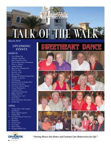 March - Village Walk of Bonita Springs