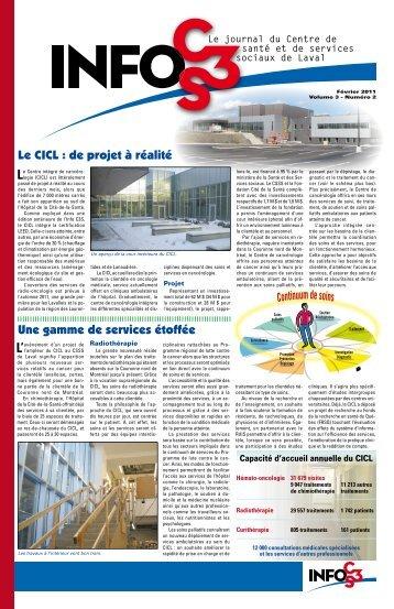 Volume 3 Numéro 2 - Centre de santé et de services sociaux de Laval