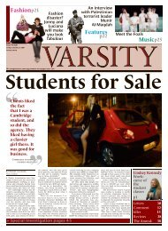 Features Music Fashionp21 - Varsity