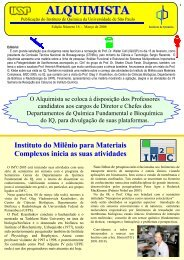 Alquimista nº 16 - Instituto de Química - USP